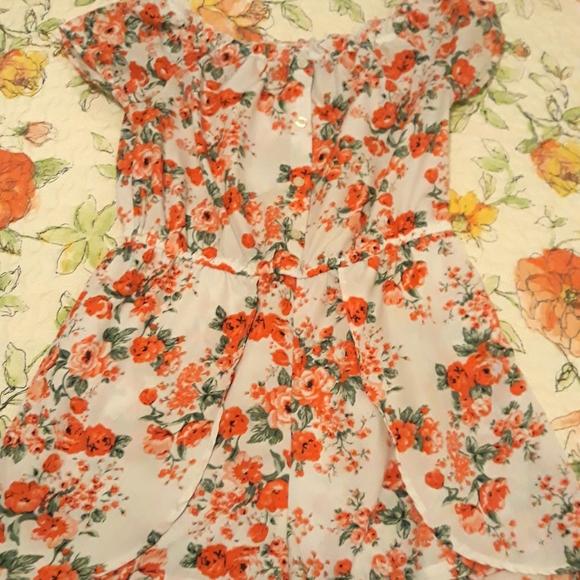 Girls romper/sun dress